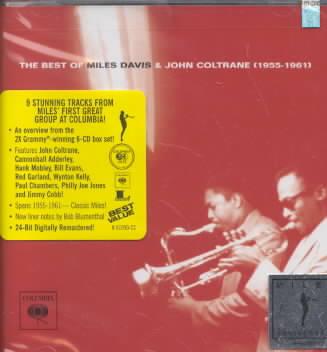 BEST OF MILES DAVIS & JOHN COLTRANE BY DAVIS,MILES/COLTRAN (CD)